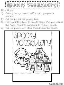 October Interactive Language Notebook