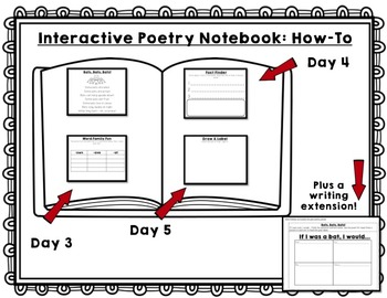 October Interactive Poetry Notebook {With Original Poems!}