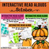 October-Interactive Read Aloud Bundle, Lesson Plans & Activities