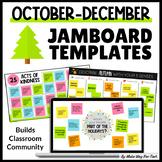 October Jamboard Templates   Morning Meeting Templates   H