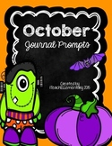 October Journal {NO PREP}