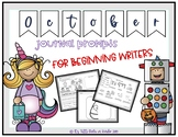 October Journal Prompts for Beginning Writers