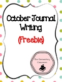 October Journal Writing