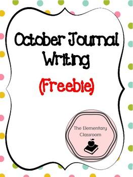 October Journal Writing