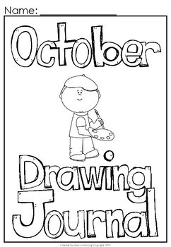 October Build a Sentence Journal for Young Writers