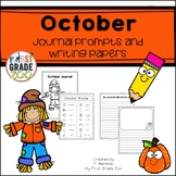 October Journals - Prompts and Writing Papers