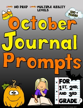 October Journals for Primary Students