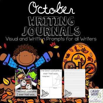 October Journals with Visual and Written Prompts