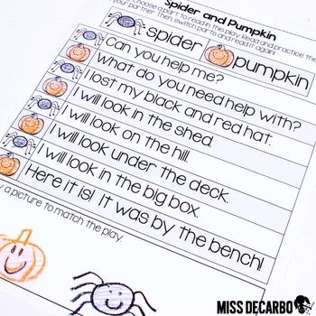 October Just Print Fluency Pack