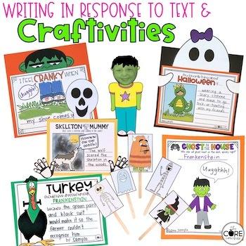 October K-1  Bundle: Interactive Read-Aloud Lesson Plans Curriculum