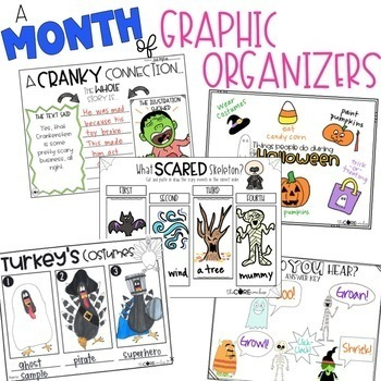 October K-1  Bundle: Interactive Read-Aloud Lesson Plans Curriculum