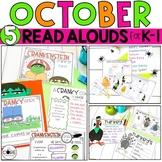October K-1  Bundle: Interactive Read-Aloud Lesson Plans C