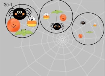 October Kindergarten Math Activities for Interactive Smartboard (Notebook 11)