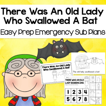 There Was An Old Lady Who Swallowed a Bat Sub Plans