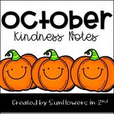 October Kindness Notes