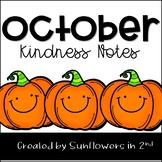 October Kindness Notes