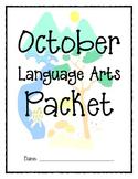 October Language Arts Activity Packet