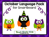 October Language Pack for Smartboard