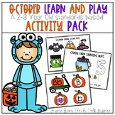 October Learn and Play Toddler Activities