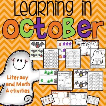 Halloween and October Activities