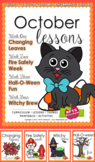 October Lessons Preschool Pre-K Kindergarten Curriculum BUNDLE S3