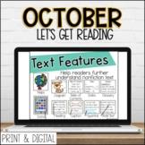 October DIGITAL Lets Get Reading 2nd Grade Reading for DIS
