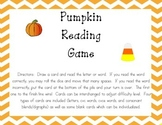 Pumpkin Letter and Word Reading Game