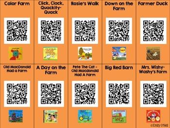 October Listening Center - Farm Animals