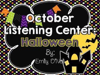 October Listening Center - Halloween