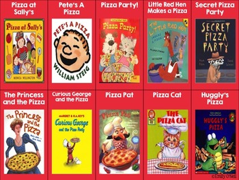 October Listening Center - National Pizza Month