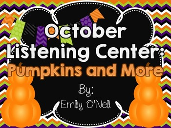 October Listening Center - Pumpkins and More