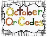 October Listening Center QR codes