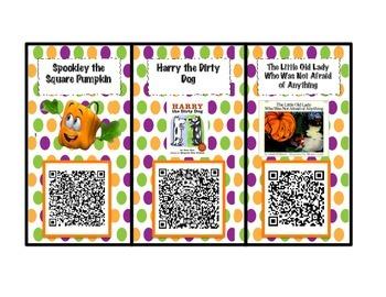 October Listening Center QR codes