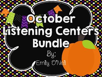 October Listening Centers Bundle