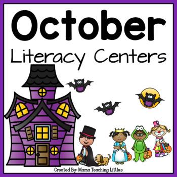 October Literacy Activities