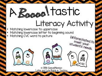 October Literacy Activity (Halloween Theme)