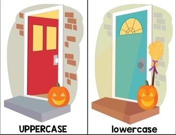 October Literacy Centers for Kindergarten