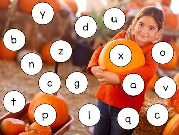 October Literacy Centers for Kindergarteners