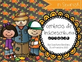 October Literacy Centers in Spanish