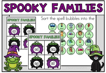 October Halloween Literacy Stations Centers Grade 1