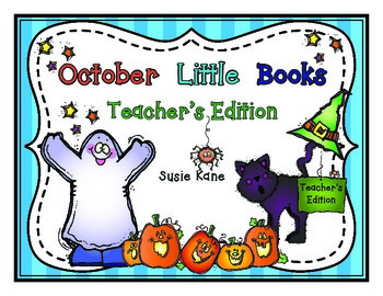 October Little Books Teacher's Edition