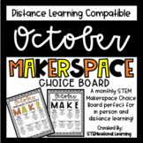 October Makerspace STEM Choice Board