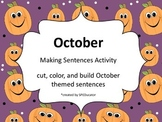 October Making Sentences