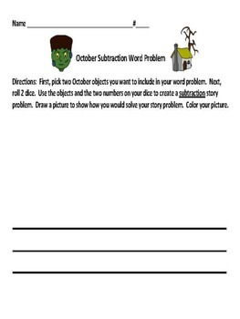 October Math Activities