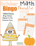 October Math Bingo Bundle