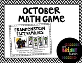 October Math Center-Frankenstein Fact Families