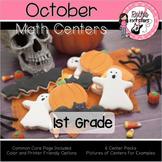 October Centers - 1st Grade - Math
