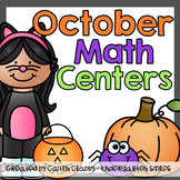 October Math Centers [Halloween Math Included]