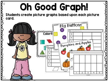October Math Centers, Journals, and Printables Kindergarten