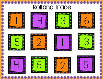 October Math Centers for Kindergarten